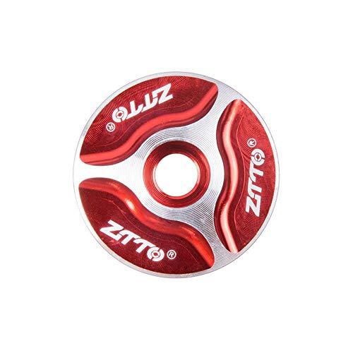 Fahrrad Headset Cap Aluminium Threadless Headset Top Cap Für ZTTO Persönlichkeit Bunte Top Cap Stem Abdeckung für die Wartung Fahrrad -