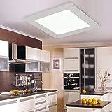Il quadrato ha condotto il pannello principale della lampada del soffitto messo per il downlight 18W 225Mm del bagno della cucina della luce della decorazione commerciale/domestica
