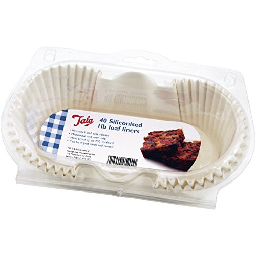 Tala 1 lb Siliconised Greaseproof Loaf Tin Liners