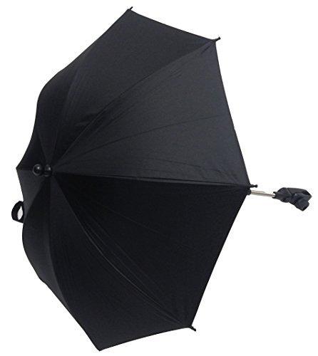 Baby Sonnenschirm kompatibel mit EMMALJUNGA EDGE Duo Combi schwarz