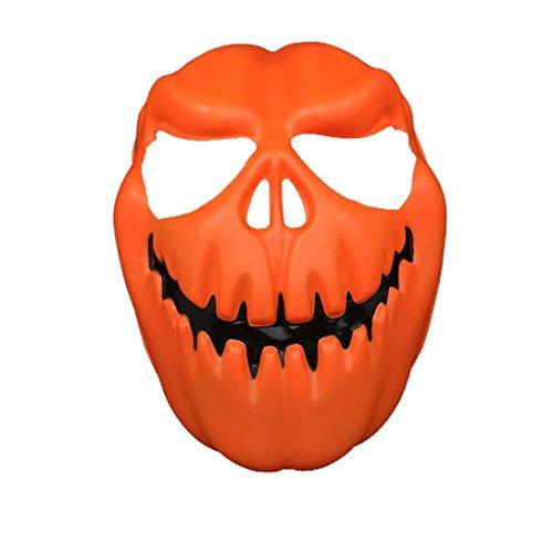 Zolimx Kürbis Kopf Halloween (Anonyme Anzug Kostüm)