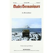 Etudes Germaniques 2/2016: Le Borealisme