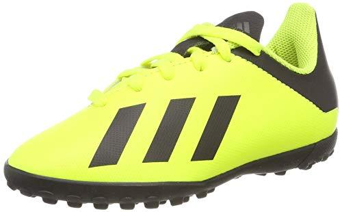 Adidas X Tango 18.4 TF J, Botas de fútbol Unisex niño, Multicolor Amasol/Negbás/Amasol 000, 36...