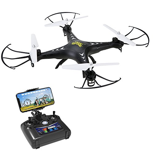 Holy Stone HS110 FPV Drone with 720P HD Live Video Camera