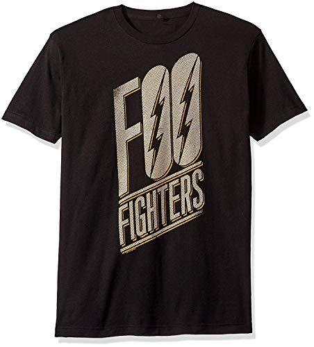 Skyey FOO Fighters Slanted Logo Soft Funny T-Shirt Herren