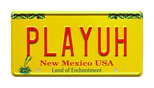Celebrity Maschinen Better Call Saul | Bob Odenkirk | Price 's gelb Hummer | playuh | Metall Prägung Vanity Prop License Plate -