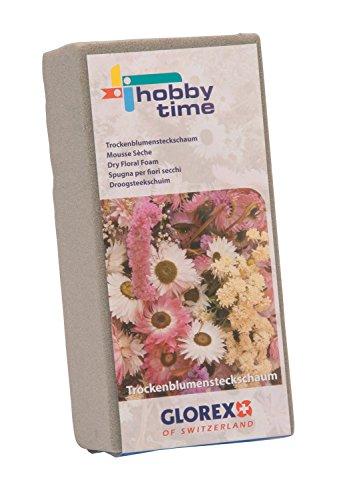 Glorex 6 3804 720 Steckschaum, für Trockenblumen, ca. 23 x 11 x 7,5 cm
