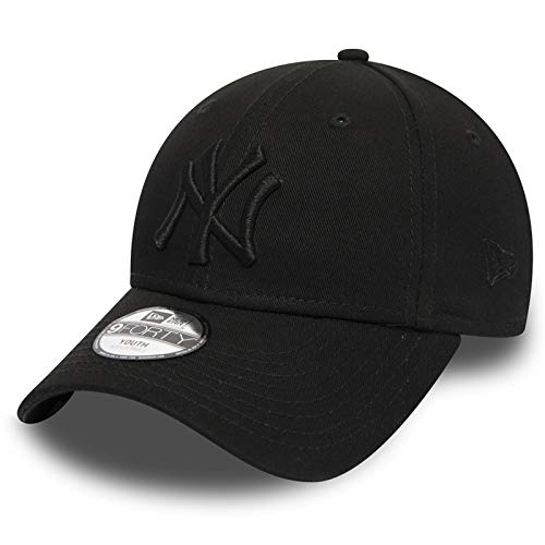 Unbekannt New Era 9forty Kinder Cap MLB New York Yankees Black/Black #2964, Youth
