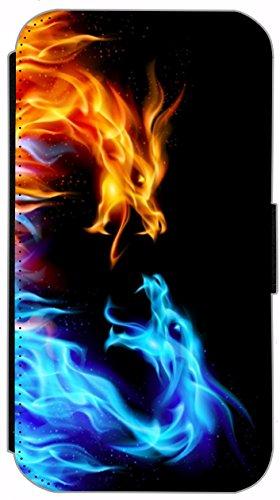 Flip Cover für Apple iPhone 4 / 4s Design 162 Affe Braun Hülle aus Kunst-Leder Handytasche Etui Schutzhülle Case Wallet Buchflip (162) 198