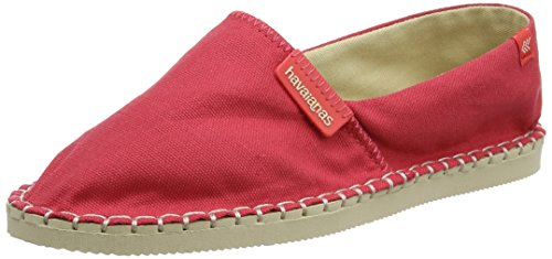 f2740edcc94 Havaianas - 4137014 - Espadrilles - Mixte Adulte - Multicolore Rouge (Ruby  Red) -