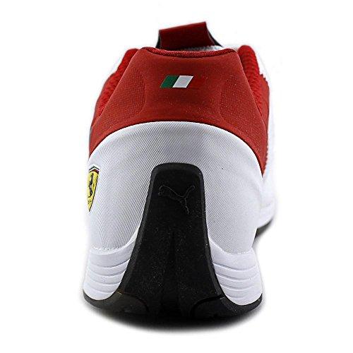Puma evoSPEED 1.4 Scuderia Ferrari Fashion Sneaker Chaussures - Hommes White-Black-Rosso Corsa