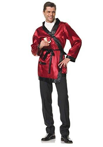 Preisvergleich Produktbild Leg Avenue 83118 - Bachelor Kostüm, Einheitsgröße, burgund/schwarz