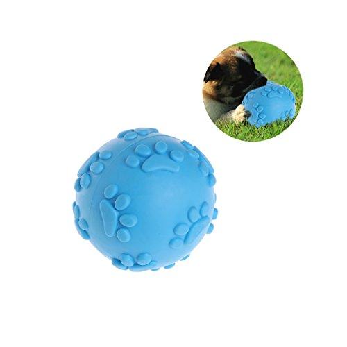 Manyo Hundeball, Langlebiger Hundespielball für große & kleine Hunde, ø 2.36'' mit Dental-Zahnpflege-Funktion für Leckerli, Langanhaltender Spielspaß