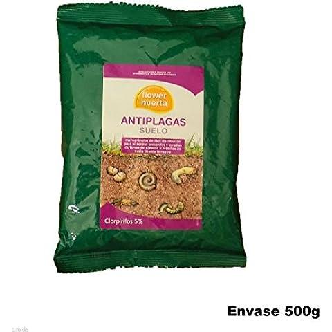 Insecticida Antiplagas 500g para control de larvas e insectos del suelo