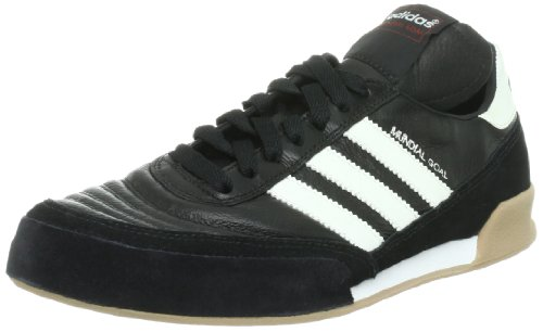 adidas Mundial Goal, Chaussures de football mixte adulte Noir (Black 1/Running White/Running White)