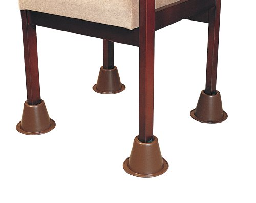 Patterson Medical - Set de 4 tacos elevadores de silla, apilables (9...