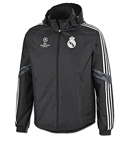 Adidas Veste Real Madrid 3ª 2014-2015- Noir, Schwarz,