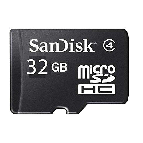 Sandisk Cruzer Blade USB Flash Drive Pendrive 16GB And Sandisk 32GB Micro sd Card Class 4