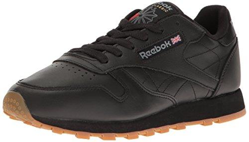 Reebok Classic 49802 Trainers Black Gum Size 5