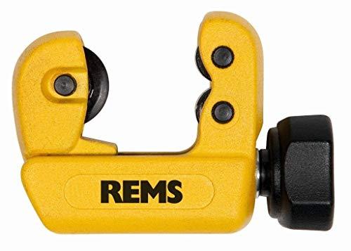 REMS Rohrabschneider RAS Cu-INOX 3-28 Mini - Installationswerkzeug zum Trennen von Rohre Durchmesser 3-28 mm, 1/8-1 1/8
