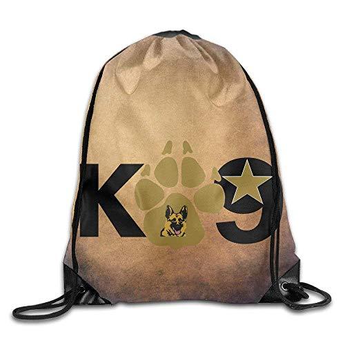 c8e1077c81 GONIESA Fashion Unisex Gym Bag Elite Breed Police Dog K9 Team Training  Gymsack. Sports > Sacs à dos ...