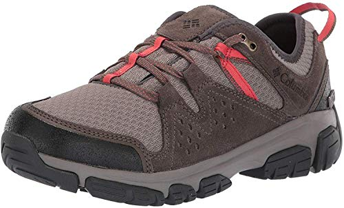Columbia Isoterra Outdry, Zapatillas de Senderismo, Impermeable para Mujer, Marrón Kettle, Red Coral...