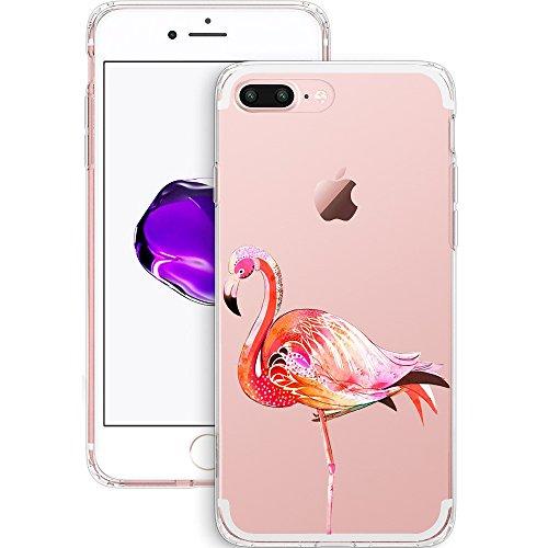 iPhone 7 Plus Hülle, JEPER iPhone 7 Plus Schutzhülle Weiche Transparent TPU Silikon Schutzhülle Case Silikon Crystal Clear Ultra Dünn Durchsichtige Backcover Handyhülle TPU Case für Apple iPhone 7 Cov pattern02