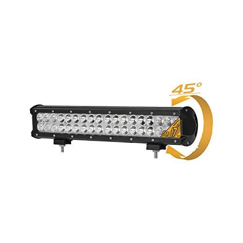 Eyourlife 36W Barra LED Fuoristrada Spot Faro LED Fuoristrada Barra Luminosa LED Faro LED Auto Impermiable Luci da Auto Faro da Lavoro LED per 4WD SUV ATV UTV Jeep Truck B