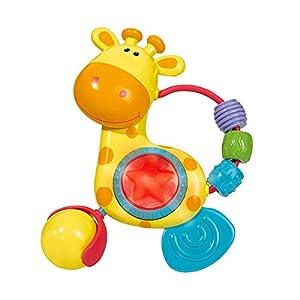 Simba Toys 104014637 ABC - Sonajero en Forma de Jirafa con Luces y Sonidos