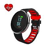 Fitness Tracker actividad Tracker Monitor de frecuencia cardiaca Paick Fitness reloj presión arterial Monitor de sueño, Recordatorio de Llamadas pulsera de Bluetooth resistente al agua reloj inteligente para ios android