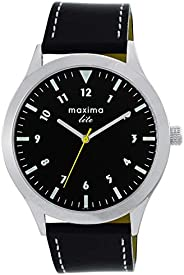 Maxima Analog Black Dial Men's Watch-L-62381
