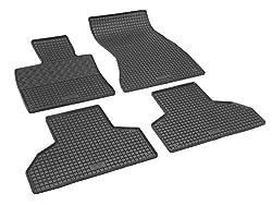 Fußmatten Matten Autofußmatten Gummifußmatten Gummimatten RIGUM Passgenau für BMW X5 2013-2018