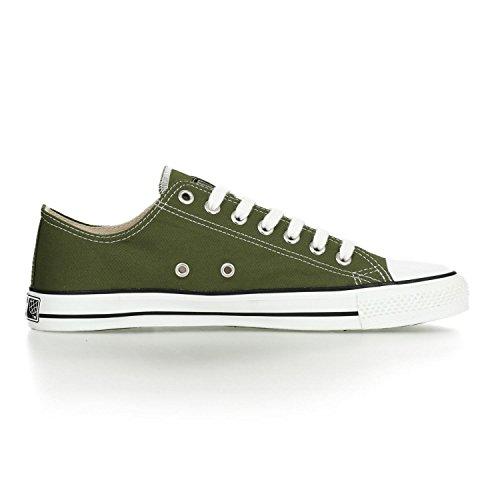 Ethletic Sneaker LoCut – camping green / white – nachhaltig, fair & vegan - 5
