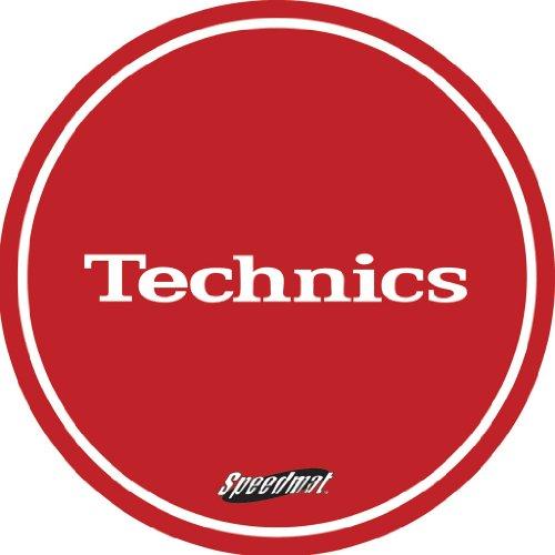Turntable Slipmats color negro y blanco Technics DMC 1 par