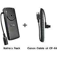 eFonto/JJC - Batería externa para flash Canon 600EX 580EX 430EZ Yongnuo YN560II YN600EX