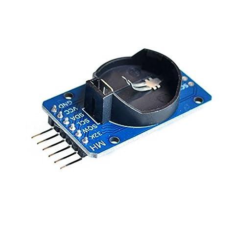 Demarkt Module für Uhr Time Clock Module Taktmodul Modul-Speichermodul für Arduino Hohe Präzision Blau DS3231 AT24C32