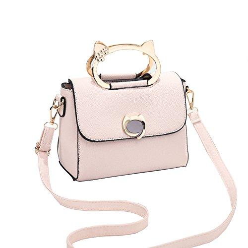 Taschen Shopper Tasche Handtasche Mode Frauen Handtaschen Einkaufstasche Schultertasche Frauen Leder Tote Bag Clutches Taschen,Off-white-OneSize (Leder-tote Off-white)