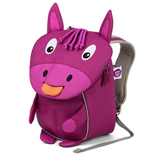 Affenzahn Kinderrucksack Paula Pferd für 1-3 Jährige im Kindergarten - Lila