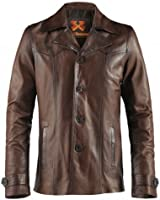 Heist Mens Leather Jacket Made in Italy