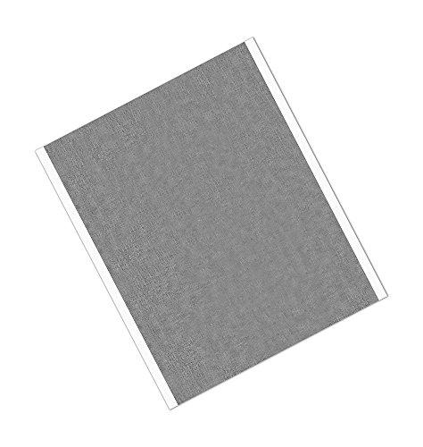 TapeCase 427 18 x 26,7 cm 25 glänzendes Silber Aluminium/Acryl-Klebeband, Linienrotes Aluminiumfolienband, umgewandelt von 3M 427, 65-300 Grad F Leistungstemperatur, 0,0046 Zoll dick (25 Stück)