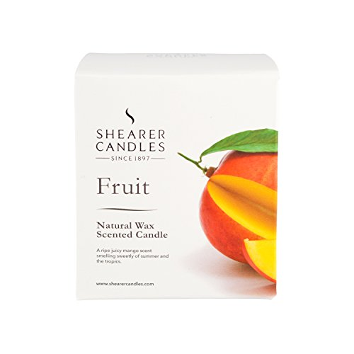 Shearer Candles Fruit Scented Natural Spa Gift Box Candle - White Wax (2014-02-20)