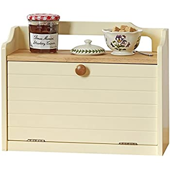 Apollo Rubber Wood Bread Bin Double Decker Amazon Co Uk