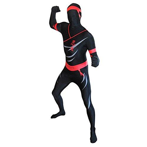 Morphsuits MPNIX - Kostüm Ninja, XL