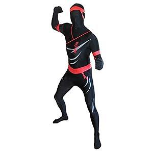 Morphsuits - Disfraz Ninja para Hombre, Talla XL (MPNIX)