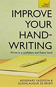Improve Your Handwriting: Teach Yourse