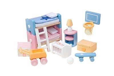 Kinderzimmer - Accesorios para habitación de casa de muñecas por Le Toy Van