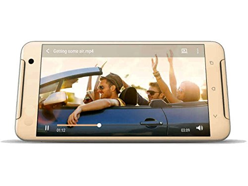 Spinup A7 Dual SIM 5 inch Display Android 5.1 Lollipop OS with 1 GB RAM and 8 GB Internal Memory Dual Camera 3G Smartphone (Gold)