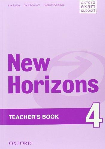 New Horizons 4. Teacher's Book