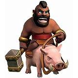 Choque de clanes figura - Clash of clans - Clash of clans figure -Montapuercos- Hog Rider