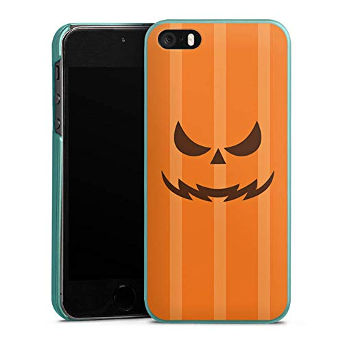DeinDesign Hülle kompatibel mit Apple iPhone 5 Handyhülle Case Gesicht Halloween Gruselig